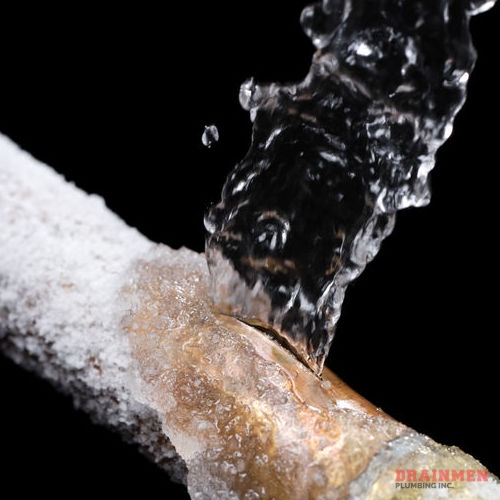 Frozen or burst pipes can happen suddenly and cause a lot of damage, quickly.