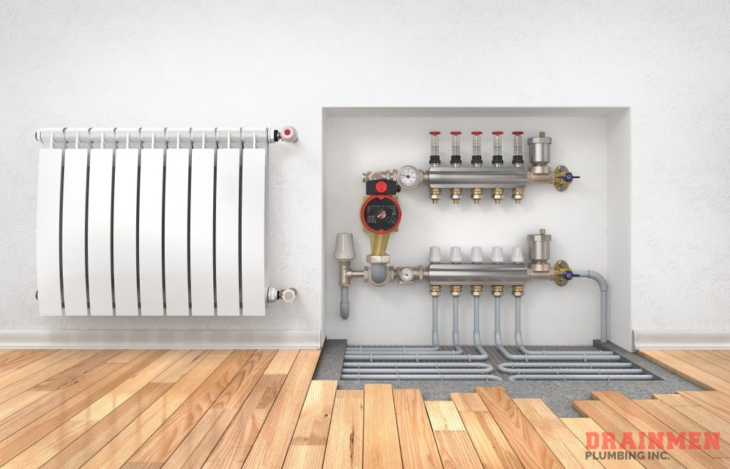 Drainmen Plumbing Inc has years of experience with baseboard heating unit installations.