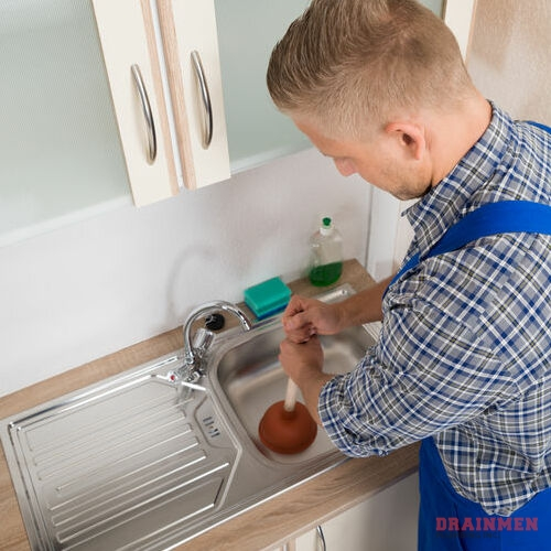 A clogged sink should not be used to prevent further damage to the drain and plumbing.