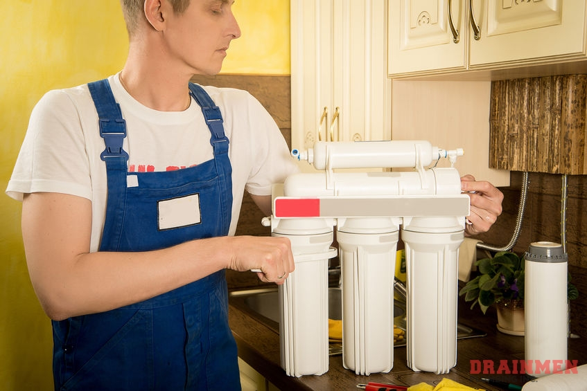 Rely on us to perform a complete and efficient water filtration system installation.